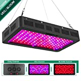 1500w LED Grow Light with Bloom and Veg Switch,Yehsence (15W LED) Triple-Chips LED Plant Growing Lamp Full Spectrum with Daisy Chained Design for Professional Greenhouse Hydroponic Indoor Plants Review