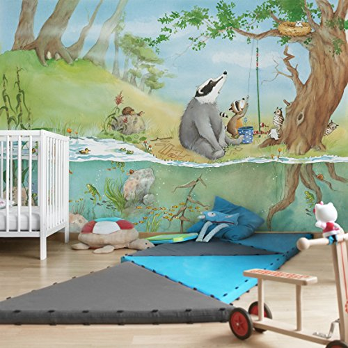 Kindertapeten - Vliestapeten - Ein Fahrstuhl für Elsa - Fototapete Breit, Vlies, Vliesfototapete, Wandtapete, Wandbild