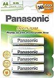 Panasonic Pack de 4 Batteries Rechargeable