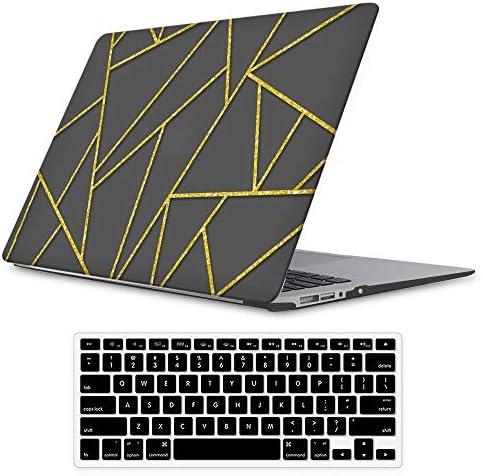 iLeadon MacBook Protective Keyboard Geometric