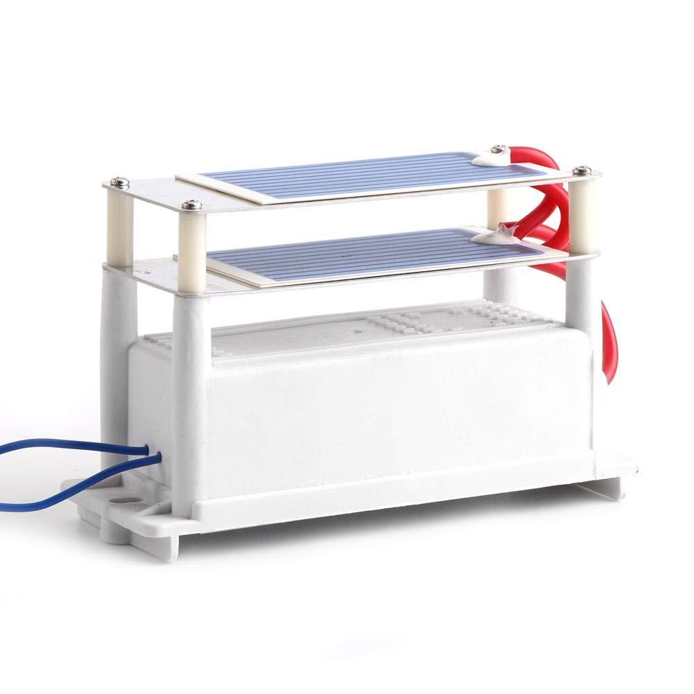 AC110V Portable 7g//h 1Ozonizer with Double Sheet Ceramic Plate Air Sterilize Ozone Generator