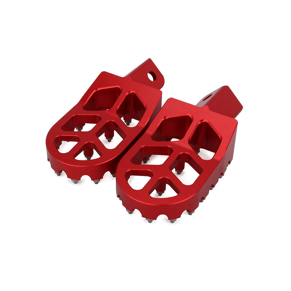 Motorcycle Foot Pegs Rest Pedal Footpegs For HONDA CRF XR 50 70 110 Pit Bike Chinese Stomp Lucky MX Thumpstar Explorer Pitster Pro SDG DHZ SSR Tao Tao Bosuer KAYO Xmotor Apollo BLACK