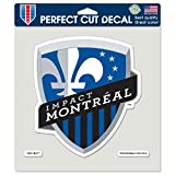 "perfect soccer wall decals WinCraft Soccer Impact Montreal Perfect Cut Color Decal, 8"" x 8"""