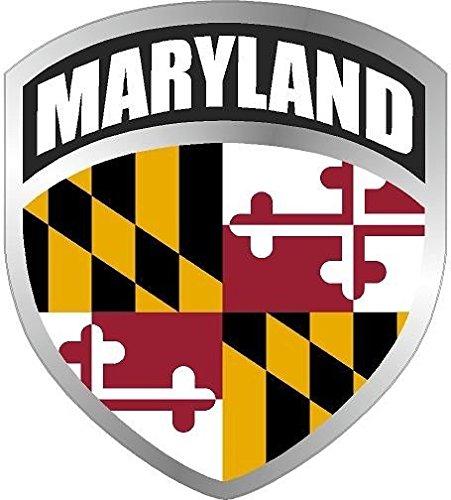 MAGNET Maryland MD Shield Decal Badge Car MAGNETIC Sticker VAR