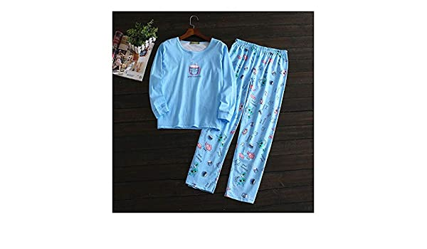 HAOLIEQUAN Pijamas De Algodón De Lindos Gatos Conjuntos ...