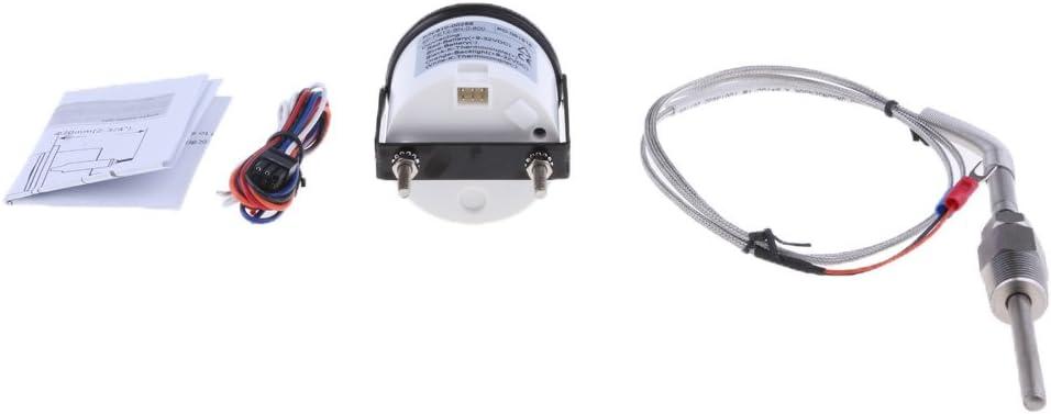 IPOTCH Medidor Indicador Temperatura de Gas de Escape Modificaci/ón Reparaci/ón de Barco # 1