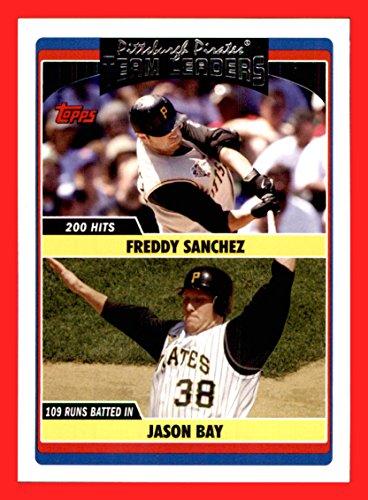 Pittsburgh Pirates Jason Bay (2006 Topps Update #300 Freddy Sanchez Jason Bay PITTSBURGH PIRATES)