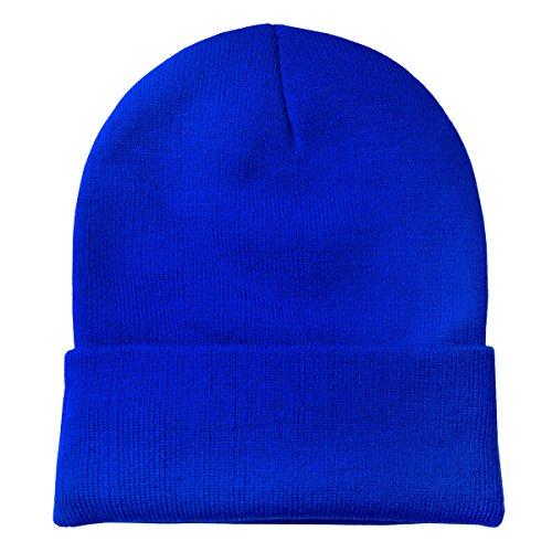 suave gorro y de diseño abrigo invierno de DonDon moderno gorro Azul clásico ZTzvwqdd