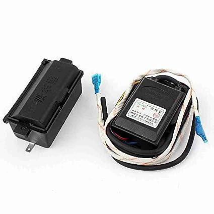 Movimiento y movimiento (TM) Estufa DC1.5 V Gas Calentador de agua dual