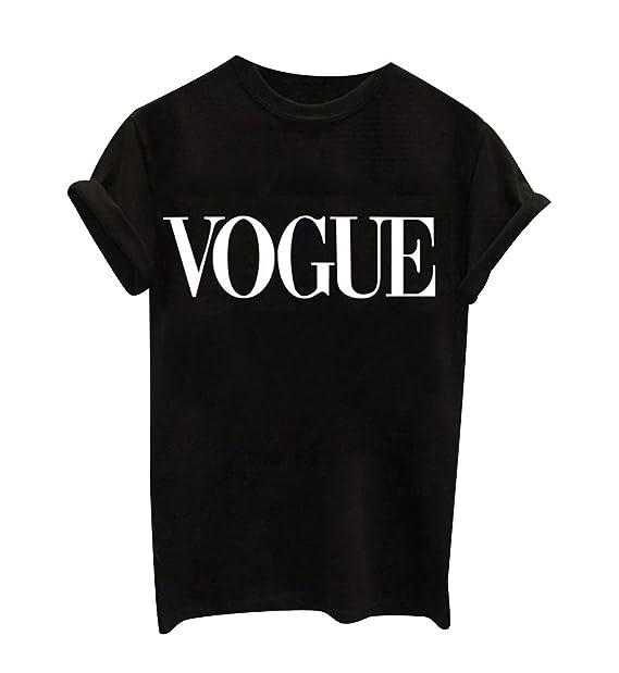 c148d2332cabec T Shirt Damen Print Rundhals T Shirts Kurzarm Oversize Frauen Sommer  Lockere T-Shirt mit Aufdruck Oberteil Sommershirt Tops für Damen Schöne  Printshirt ...