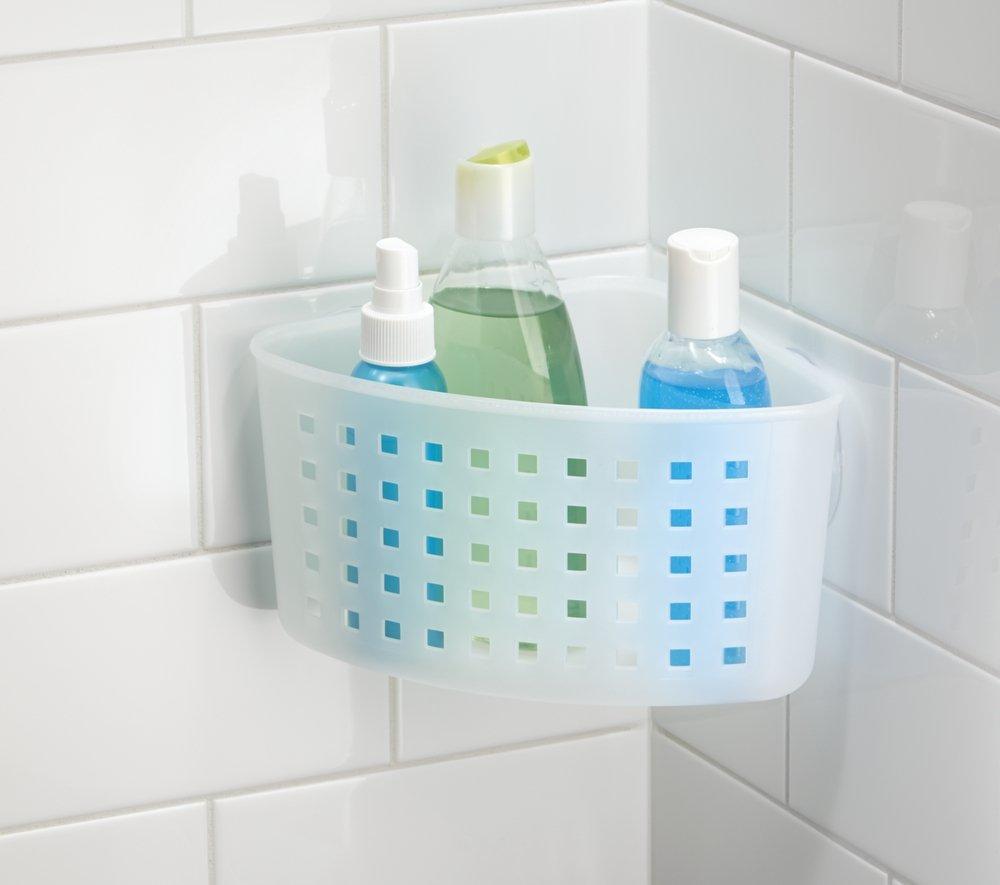 Amazon.com: mDesign Bathroom Shower Caddy Basket Organizer for ...