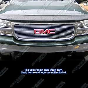 APS G65703A Polished Aluminum Billet Grille Bolt Over for select GMC Sierra 1500 Models