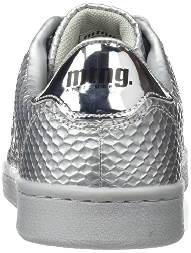 MTNG Women's Agasi Low-Top Sneakers Silver (Ball Plata / Plane Plata) nM7EyZ5QVl