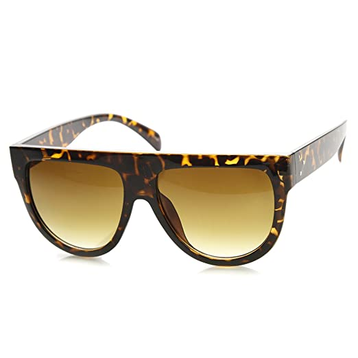 bc84d66d2 Image Unavailable. Image not available for. Color: Large Oversized Flat Top  Teardrop Frame Aviator Sunglasses ...