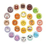 Emoji Magnets For Lockers Refrigerator 25 Pcak Decorative Fridge Magnets Cute Decoration Kitchen Iron Office Whiteboards Accessories Suitable For Kids Toddlers And Adults (25 animals magnets)