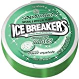 Ice Breakers Spearmint - Sugar Free Mints; Imported from USA - 42 Grams.