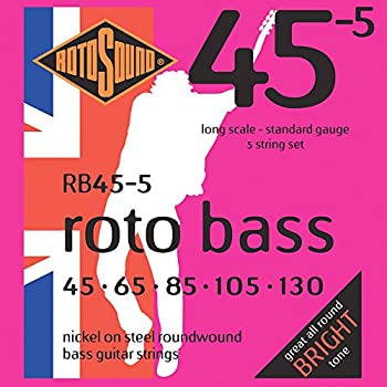 rotosound nickel roundwound bass guitar strings 5 string musical instruments. Black Bedroom Furniture Sets. Home Design Ideas