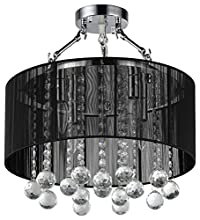 Whse of Tiffany RL1326/4 Katie's 4-Light Crystal Chandelier