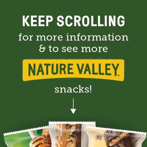 Nature Valley Peanut Butter Dark Chocolate, Salted Caramel Nut, Almond & Protein Chewy Bars, 21.3 oz by Nature Valley (Image #3)