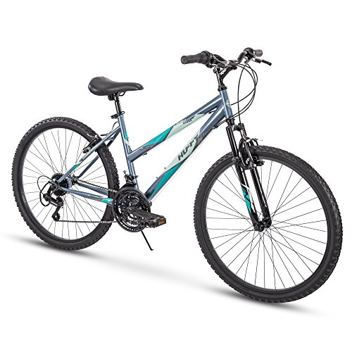 Huffy Hardtail Mountain Bike, Summit Ridge 24-26 inch 21-Speed, Lightweight (Best Womens Mountain Bike)