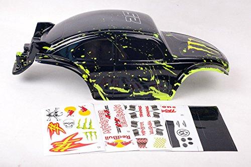 Muddy Bug Monster Body for Slash 1/10 Shell Cover Baja 6811 Truck (Monster Truck Body)
