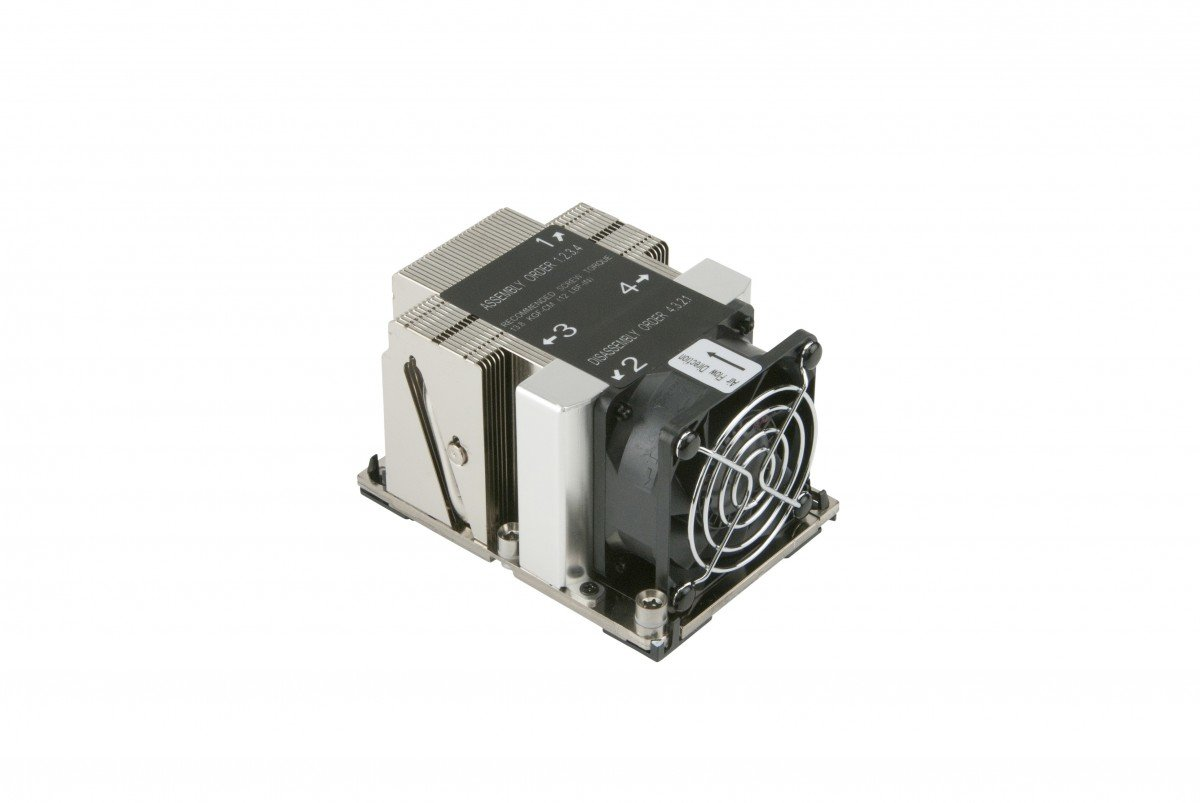 Supermicro SNK-P0068APS4 LGA 3647-0 2U&UP X11 Purley Platform CPU Heat Sink by Supermicro