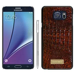 Popular Samsung Galaxy Note 5 Edge Cover Case ,Brahmin 01 Black Samsung Galaxy Note 5 Edge Case Hot Sale And Unique Designed Phone Case