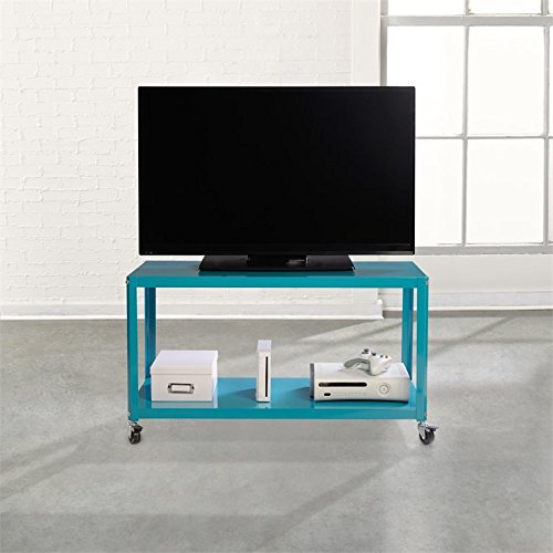 Sauder Soft Modern Multi Cart in Peacock Blue by Sauder