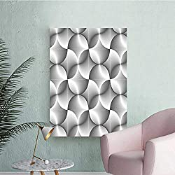 Wall Stickers for Living Room Half Abstract Circl