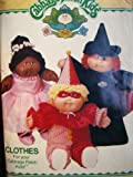 Cabbage Patch Kids Costumes, Butterick 6935 Vintage 1984, Clown, Witch, Princess or Ballerina