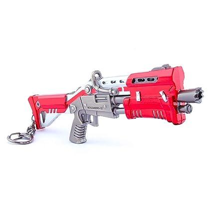 Amazon.com: Llavero con diseño de escopeta táctica modelo 1 ...