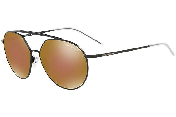 Emporio Armani EA2070 gafas de sol w/Lente Marrón Espejo de ...
