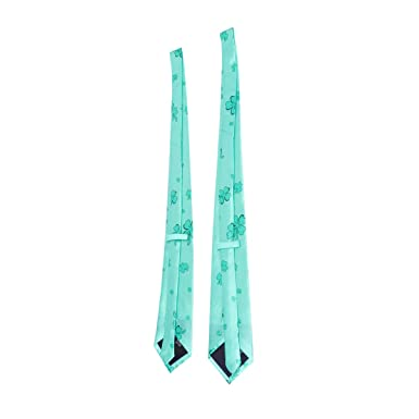 Amosfun 2 piezas st. día de patricks corbata fiesta verde corbata ...