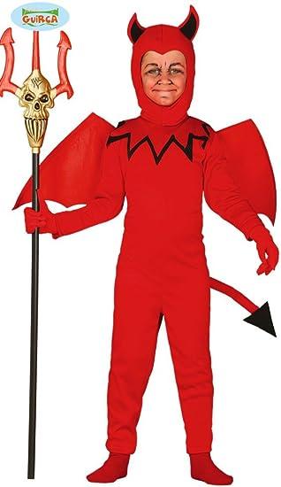 Disfraz de Diablo infantil talla 10-12 años: Amazon.es: Juguetes y ...