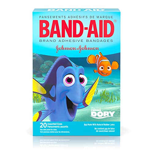 Band-Aid Adhesive Bandages, Disney's Finding Dory, 20 Count]()
