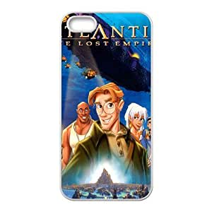 iPhone 5,5S Cell Phone Case Kida's Mask - Atlantis The lost Empire Case Cover PP8D298096