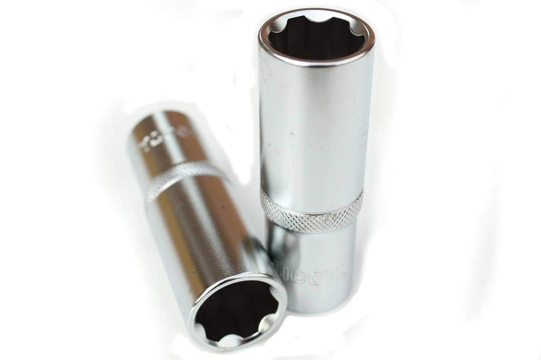 1//2 Superlock-Stecknuss SW 16mm Langnuss=77mm f/ür Knarre Ratsche Cr-V