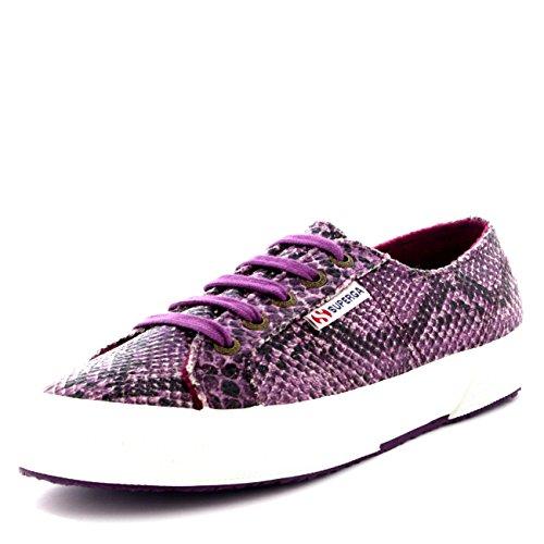 Superga 2750 Cotu Snake - Zapatillas de sintético para hombre Morado - Purple (971)