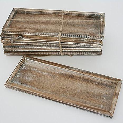 NEU Holz-Tablett 29,5x10,3x2,3cm