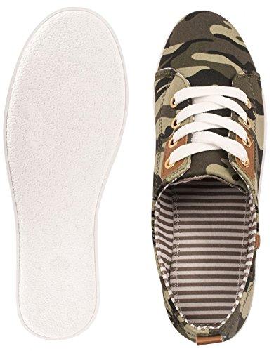 Schnürer London Grün Sportlich Bequeme Elara Sneakers Turnschuhe Low Basic chunkyrayan 8ETz8YwqUn