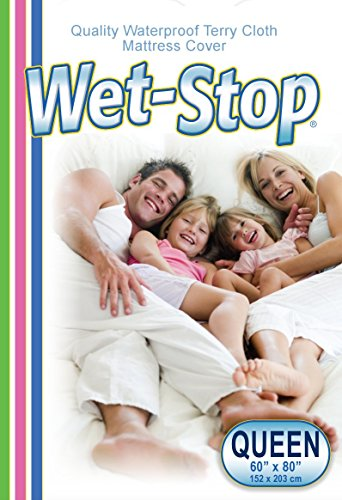 Best Price! Wet-Stop Waterproof Hypoallergenic Terry Cloth Mattress Protector Cover: Incontinence Pr...