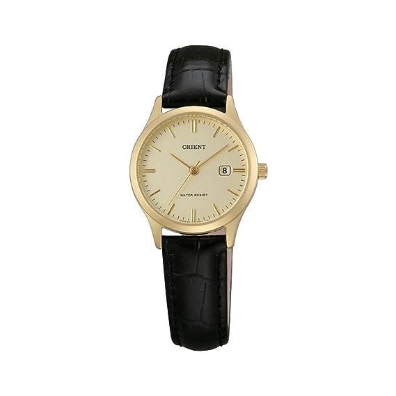 0ba943ae9e2b Orient Reloj Análogo clásico para Mujer de Cuarzo con Correa en Cuero  FSZ3N001C0  Amazon.es  Relojes