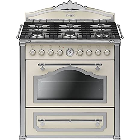 Smeg CC9GPX Cucina Cortina Panna Silver: Amazon.it: Grandi ...