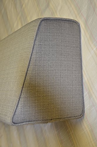 Wedge-Bolster-with-Cover-Linen-Silver-Grey