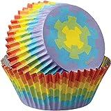 Wilton Standard Baking Cups, 36-Count, Rainbow Color
