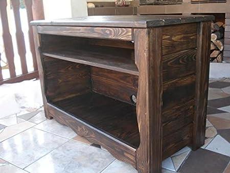 Decocraft Madera Mueble de TV Soporte Caja Mesa de café Vintage Muebles salón (PT): Amazon.es: Hogar