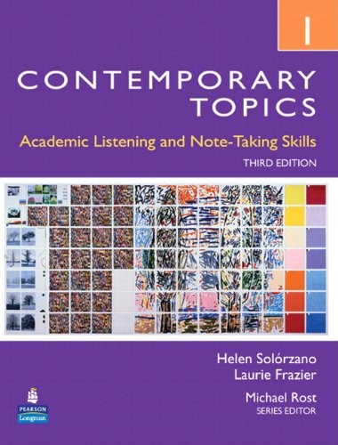Contemporary Topics 1 Student Book with Streaming Video Access Code Card