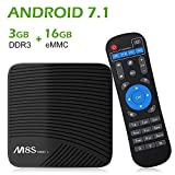 wi fi tv box - NewPal TV Box M8S Pro L 3G 16G Andriod 7.1 4K TV Box Built in 2.4G/5G WiFi Streaming Media Player (Andriod OS)