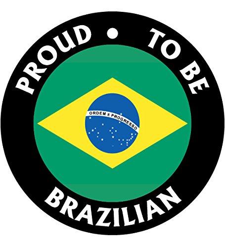 Proud To Be Brazilian Car Air Freshener