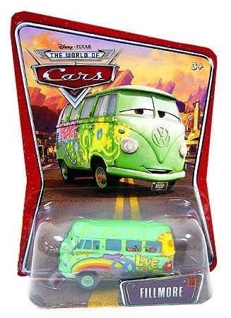 (Mattel Disney Cars Supercharged Fillmore Diecast Car)